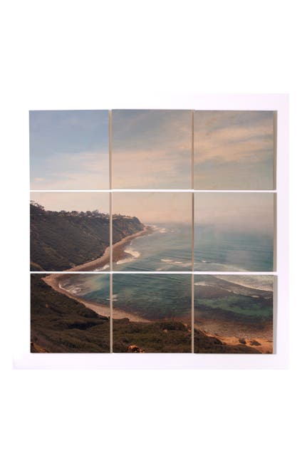 Image of Deny Designs Catherine Mcdonald California Coast Wood Wall Mural