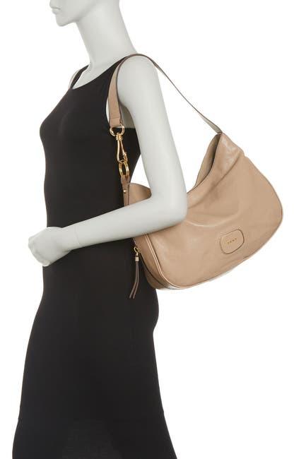 Image of DKNY Randall Leather Hobo Bag