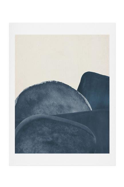 Image of Deny Designs Iris Lehnhardt blue landscape Art Print