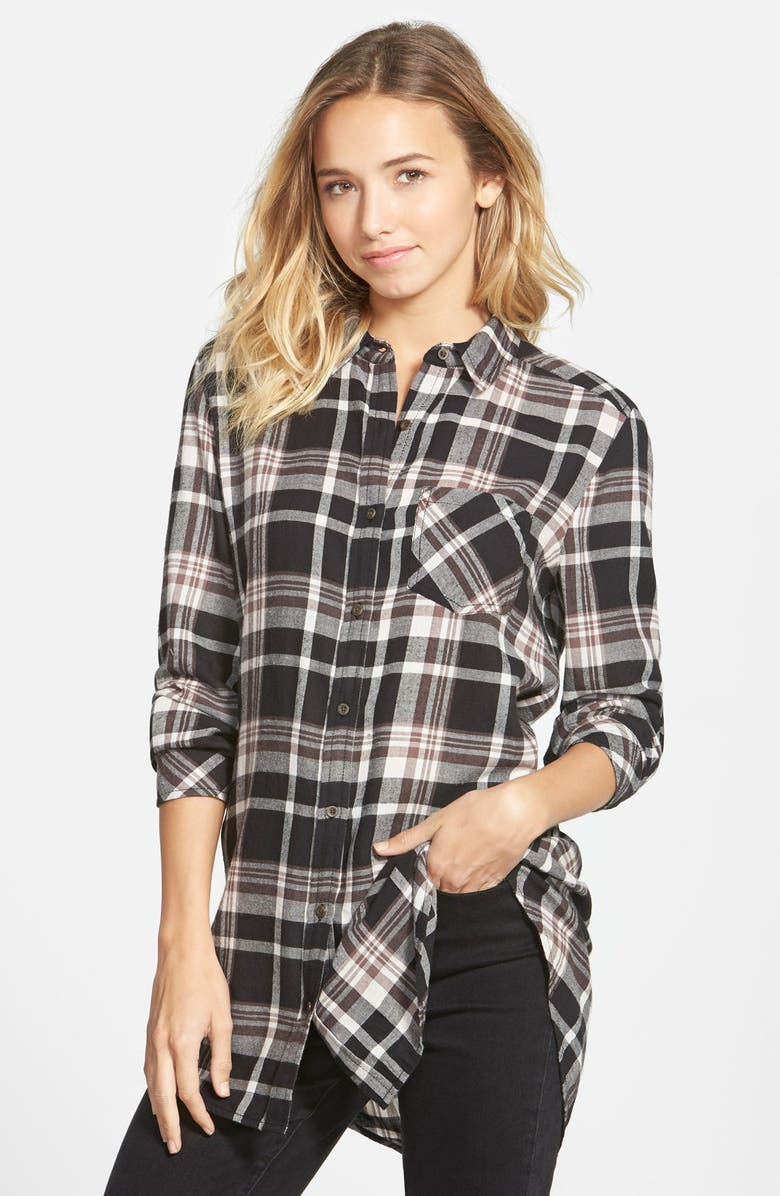 BP. Plaid Shirt, Main, color, 001