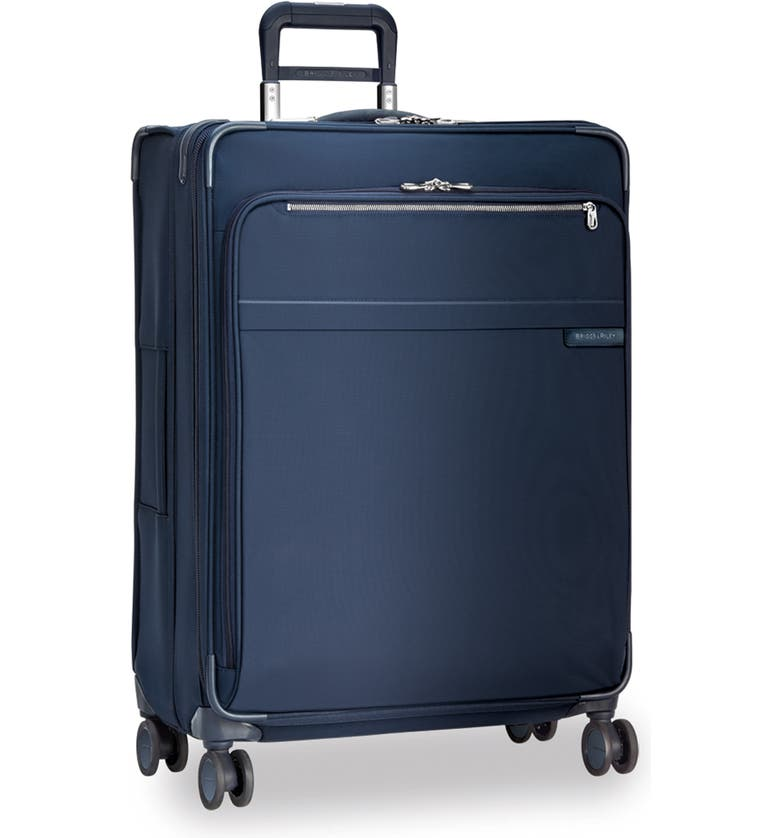 BRIGGS & RILEY XL Expandable 31-Inch Spinner Suitcase, Main, color, NAVY
