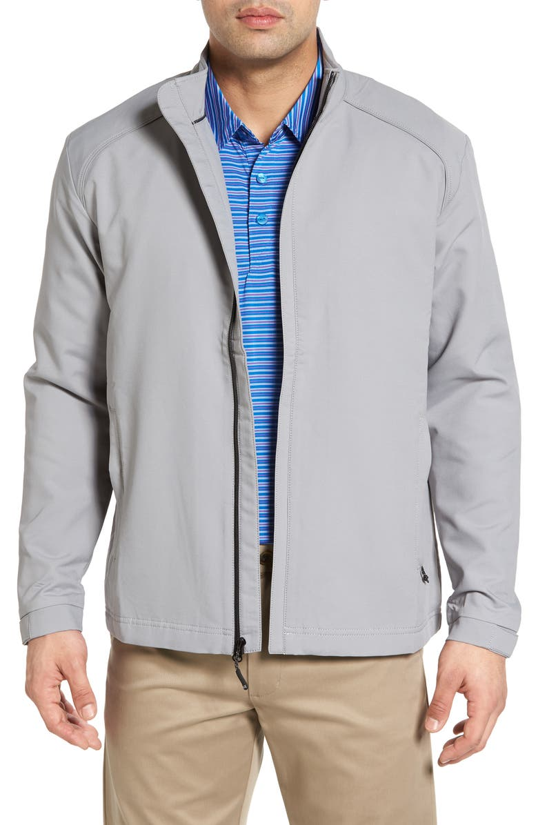 CUTTER & BUCK 'Blakely' WeatherTec<sup>®</sup> Wind & Water Resistant Full Zip Jacket, Main, color, OXIDE
