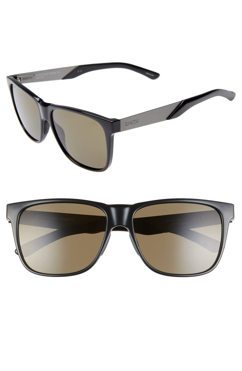 SMITH Lowdown XL Steel 59mm ChromaPop<sup>™</sup> Sunglasses, Main, color, 001