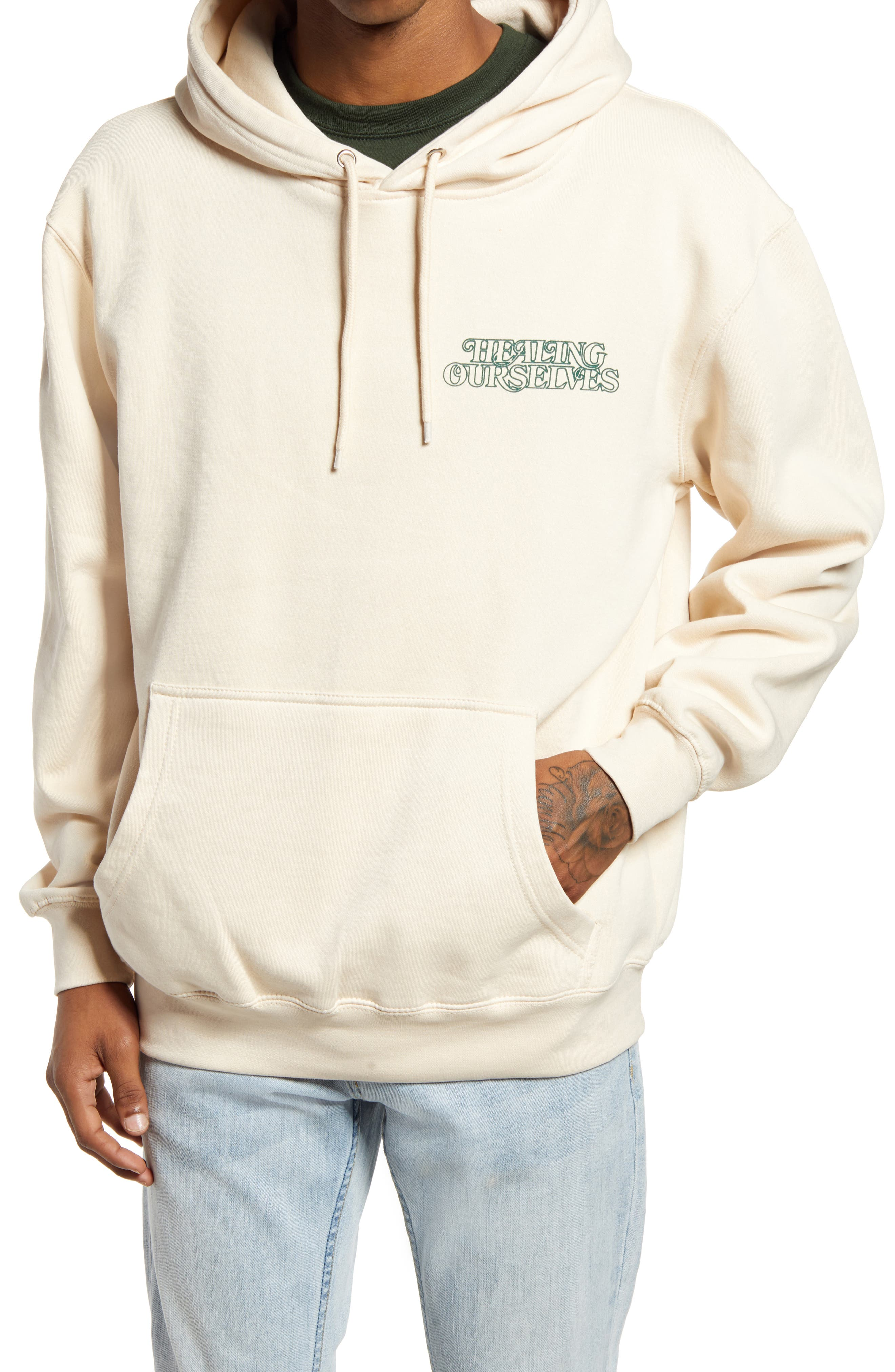 Men's Healing Ourselves Graphic Hoodie