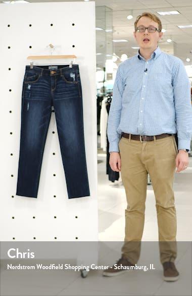 Ab-solution Raw Hem Girlfriend Jeans, sales video thumbnail
