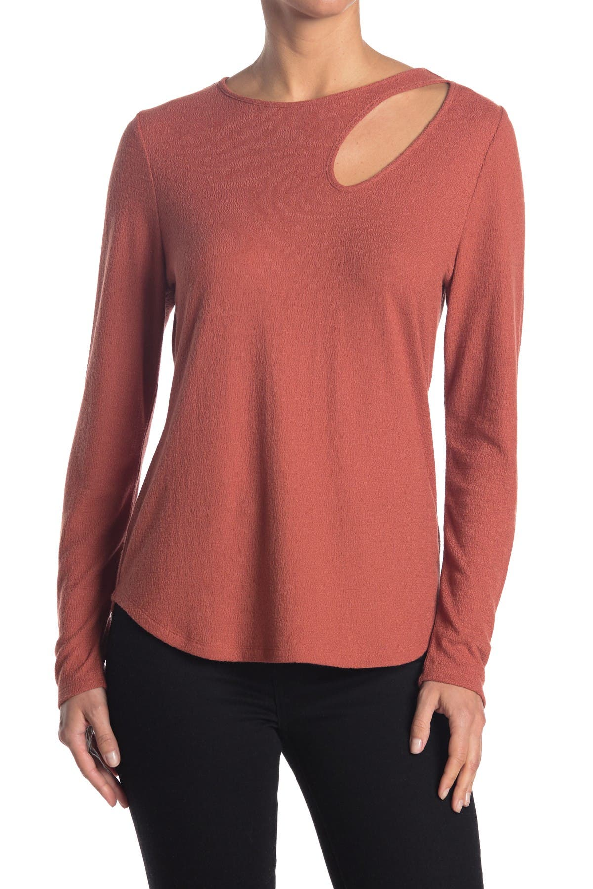 Status by Chenault Womens Smock Neck Textured Tee Tank Top Shirt Plus BHFO 8301