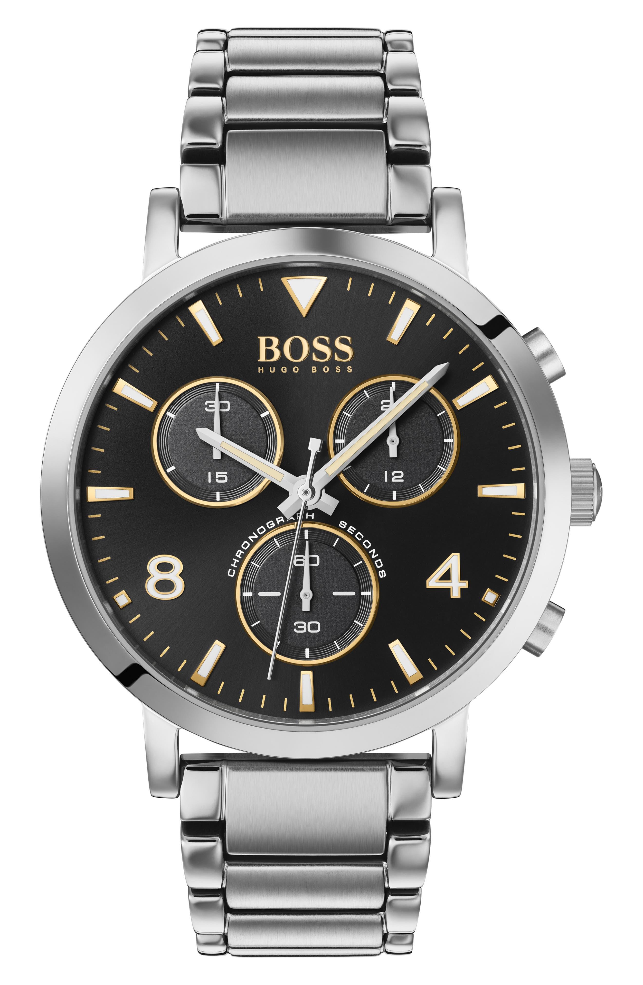 Men's Boss Spirit Chronograph Bracelet Watch, 41Mm