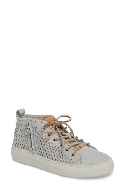 Image of Blackstone Side Zip Leather Sneaker