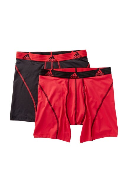 Image of adidas Climalite Performance Boxer Brief - Pack of 2