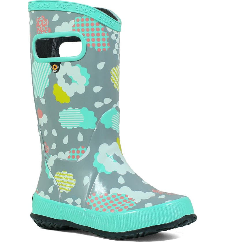 BOGS Clouds Waterproof Rain Boot, Main, color, 062