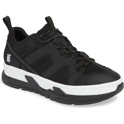 Burberry Union Low Sneaker, Black