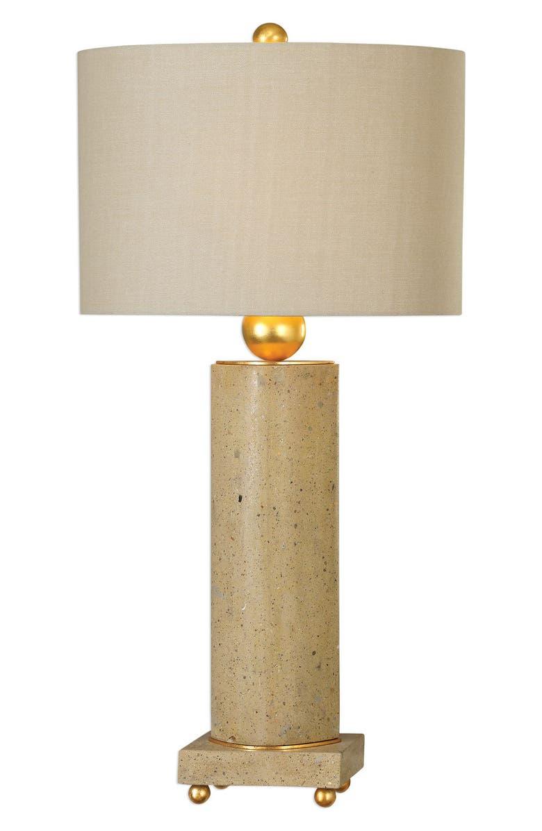UTTERMOST Krisel Oval Column Lamp, Main, color, 710
