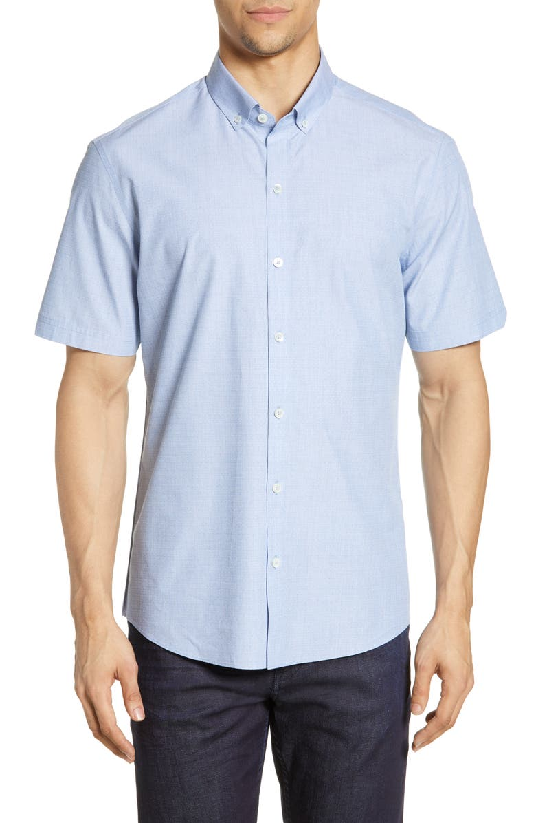 ZACHARY PRELL Desai Regular Fit Shirt, Main, color, 400