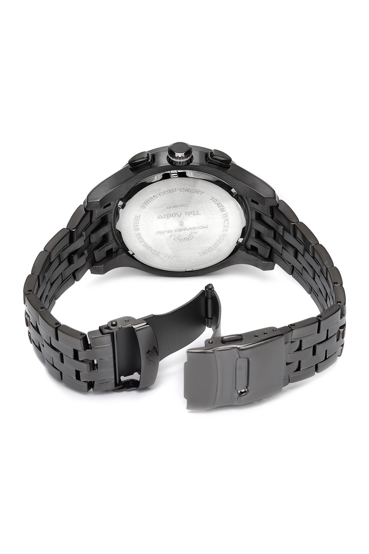 Image of Porsamo Bleu Men's Andre Swiss Quartz Watch, 47mm