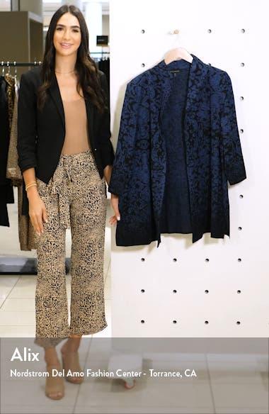 Ombré Floral Knit Jacket, sales video thumbnail