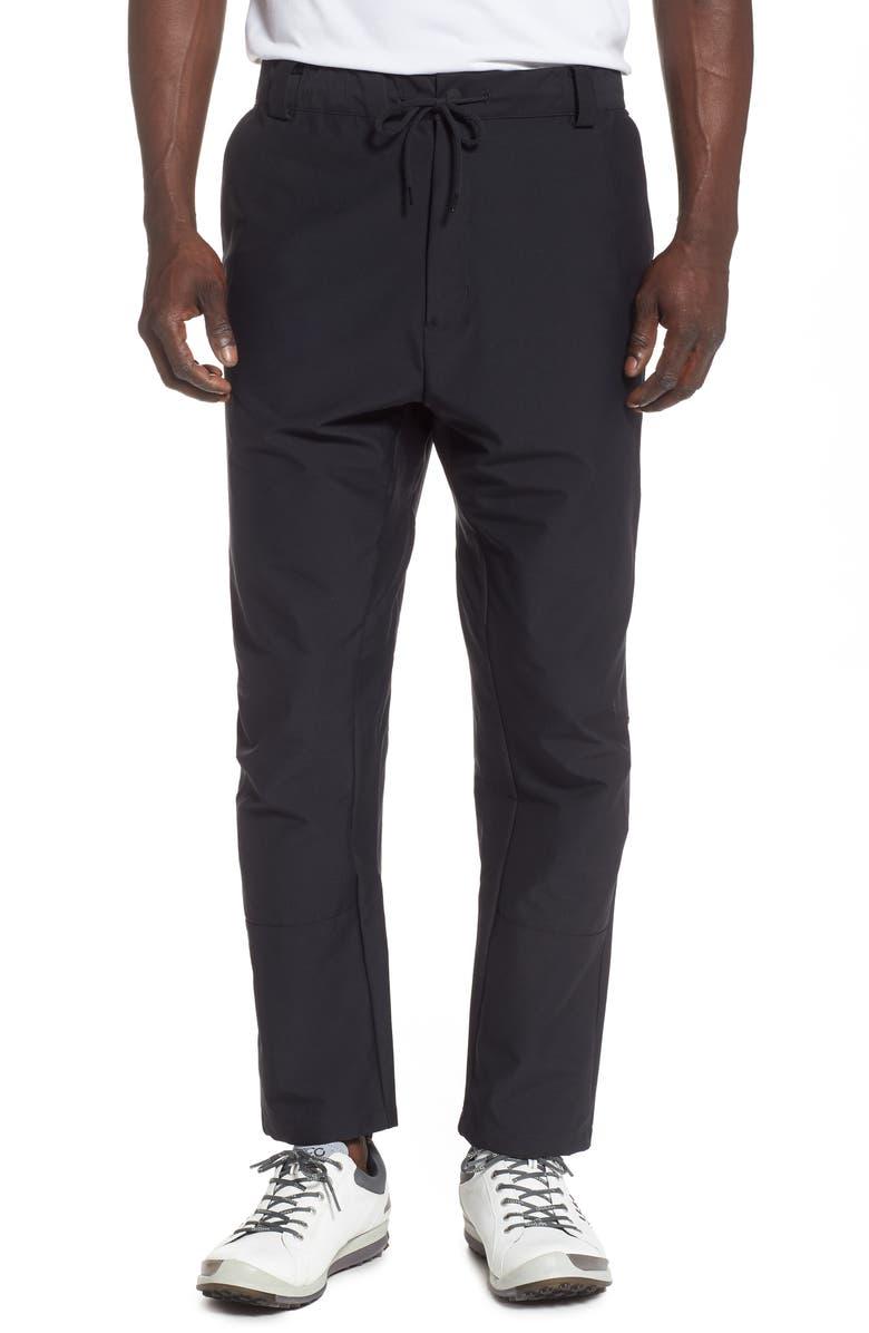 NIKE Golf Flex Crop Pants, Main, color, BLACK/ BLACK