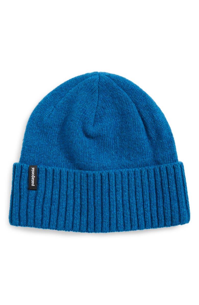PATAGONIA Brodeo Wool Stocking Cap, Main, color, BALKAN BLUE
