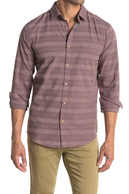 Image of Sovereign Code Eunice Stripe Slim Fit Shirt