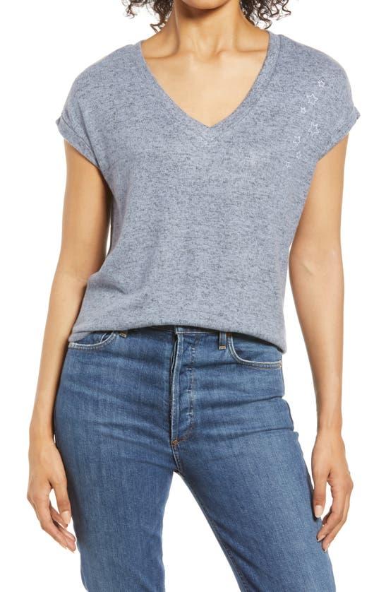 Bobeau T-shirts COZY V-NECK T-SHIRT