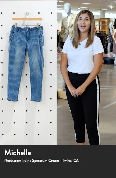 Ab-Solution High Waist Ankle Straight Jeans, sales video thumbnail