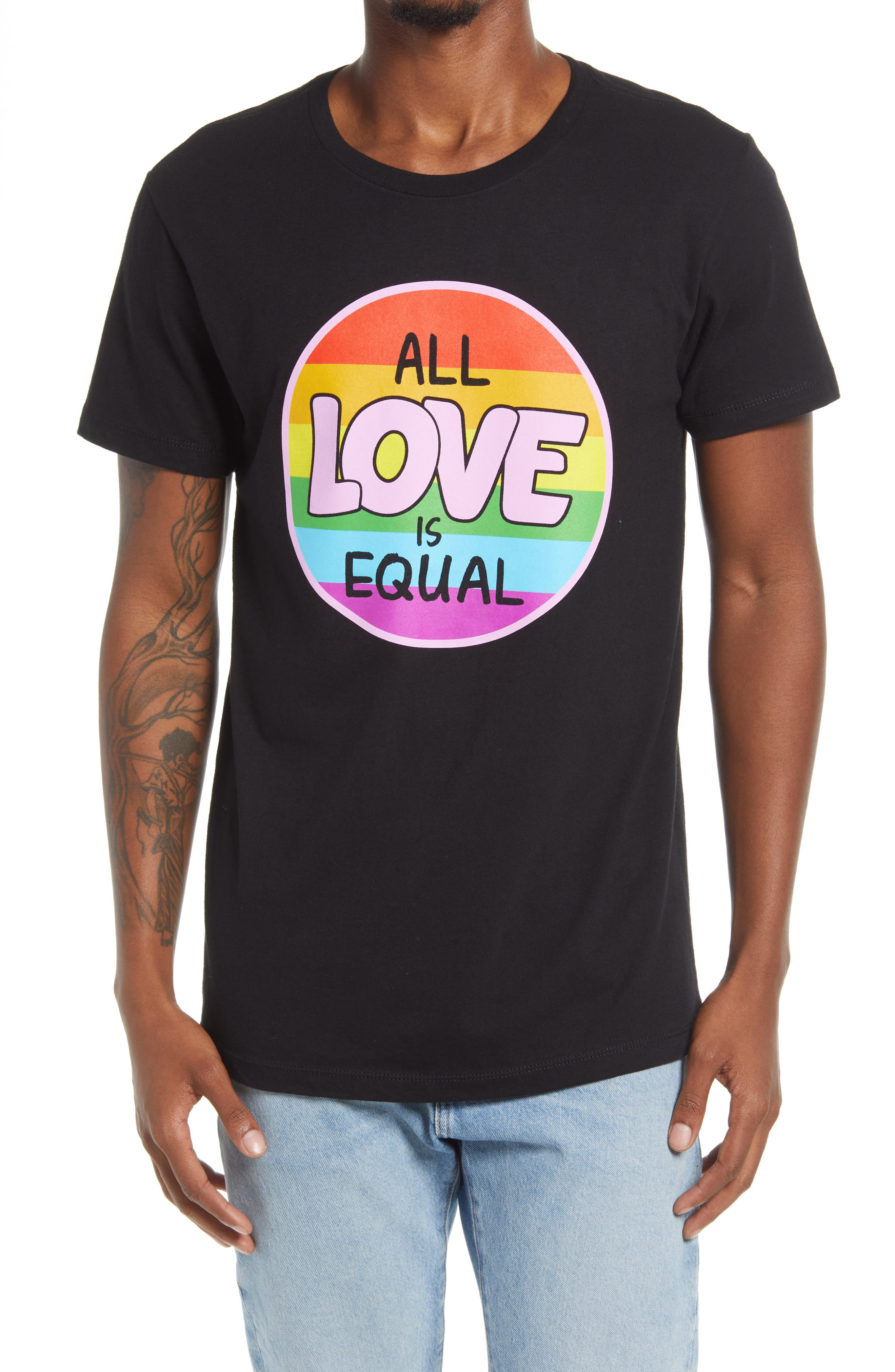 All Love Is Equal Graphic Pride Tee