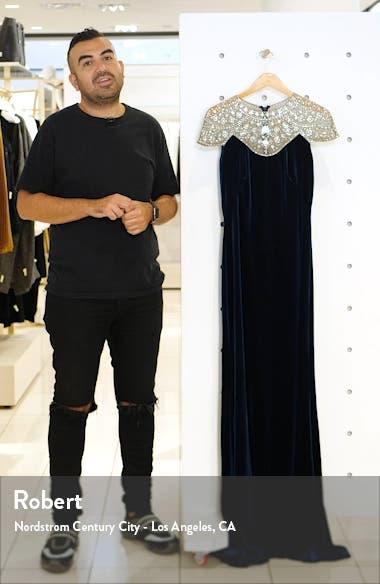 Embellished Velvet Gown, sales video thumbnail