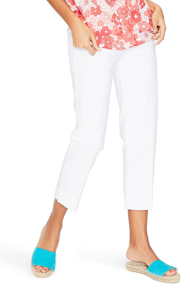 BODEN Richmond Capri Trousers, Main, color, 100