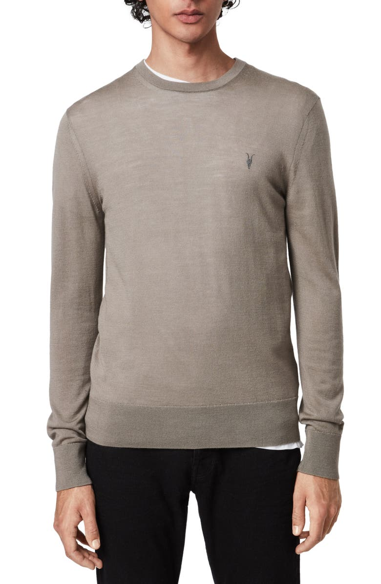 ALLSAINTS Mode Slim Fit Merino Wool Sweater, Main, color, 253