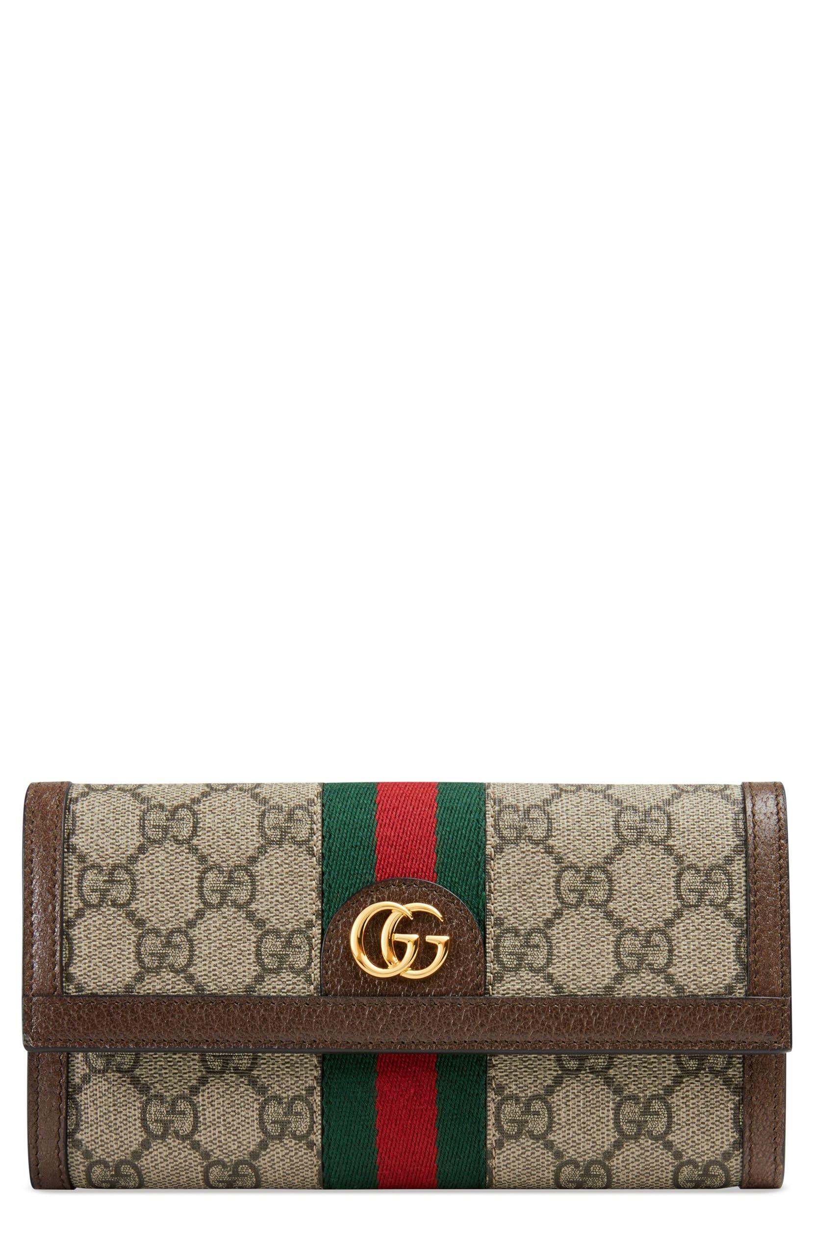 74deb742d78e Gucci Ophidia GG Supreme Continental Wallet | Nordstrom