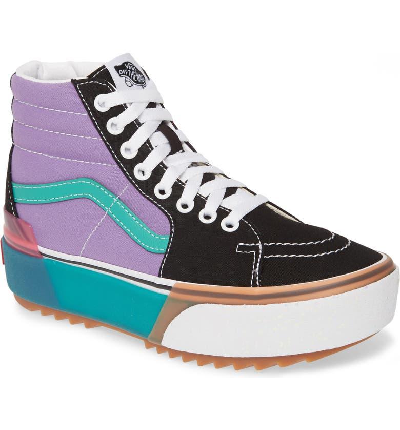 VANS Era Sk8-Hi Stacked Platform Sneaker, Main, color, 500