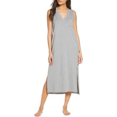 UGG Jaydn French Terry Nightgown, Grey