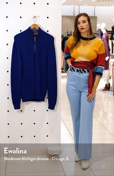 Mock Neck Half Zip Sweater, sales video thumbnail
