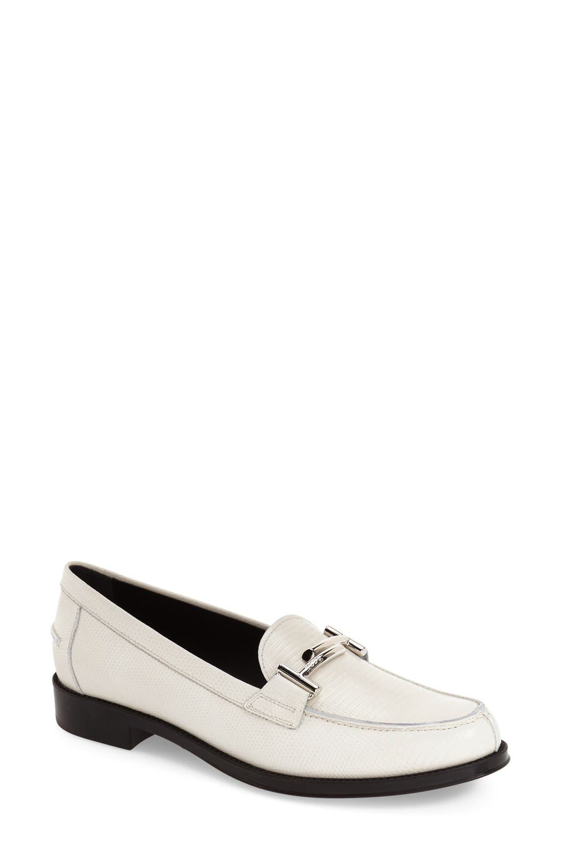 ,                             'Double T' Loafer,                             Main thumbnail 9, color,                             100