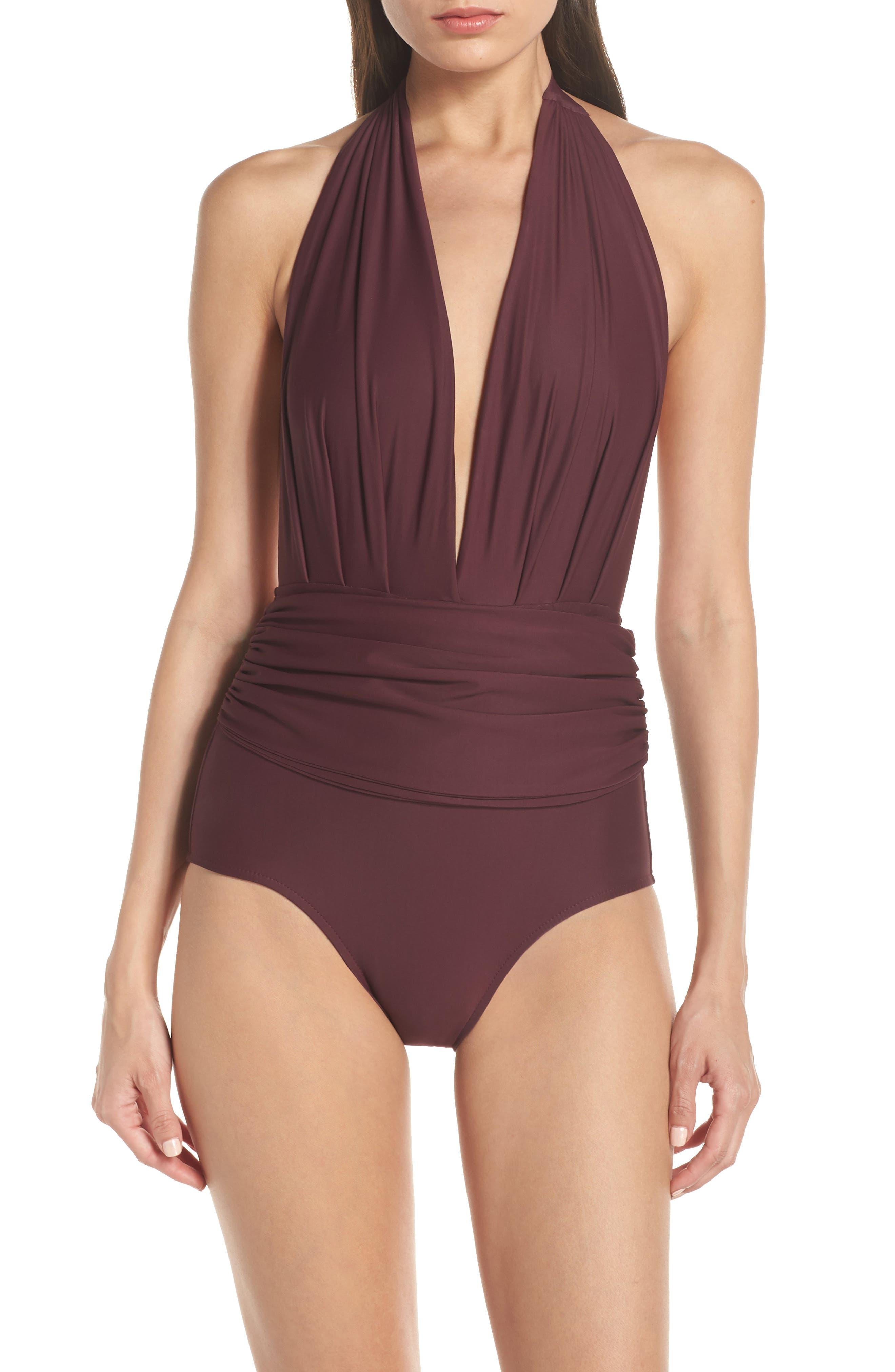 Lenny Niemeyer Plunge One-Piece Swimsuit