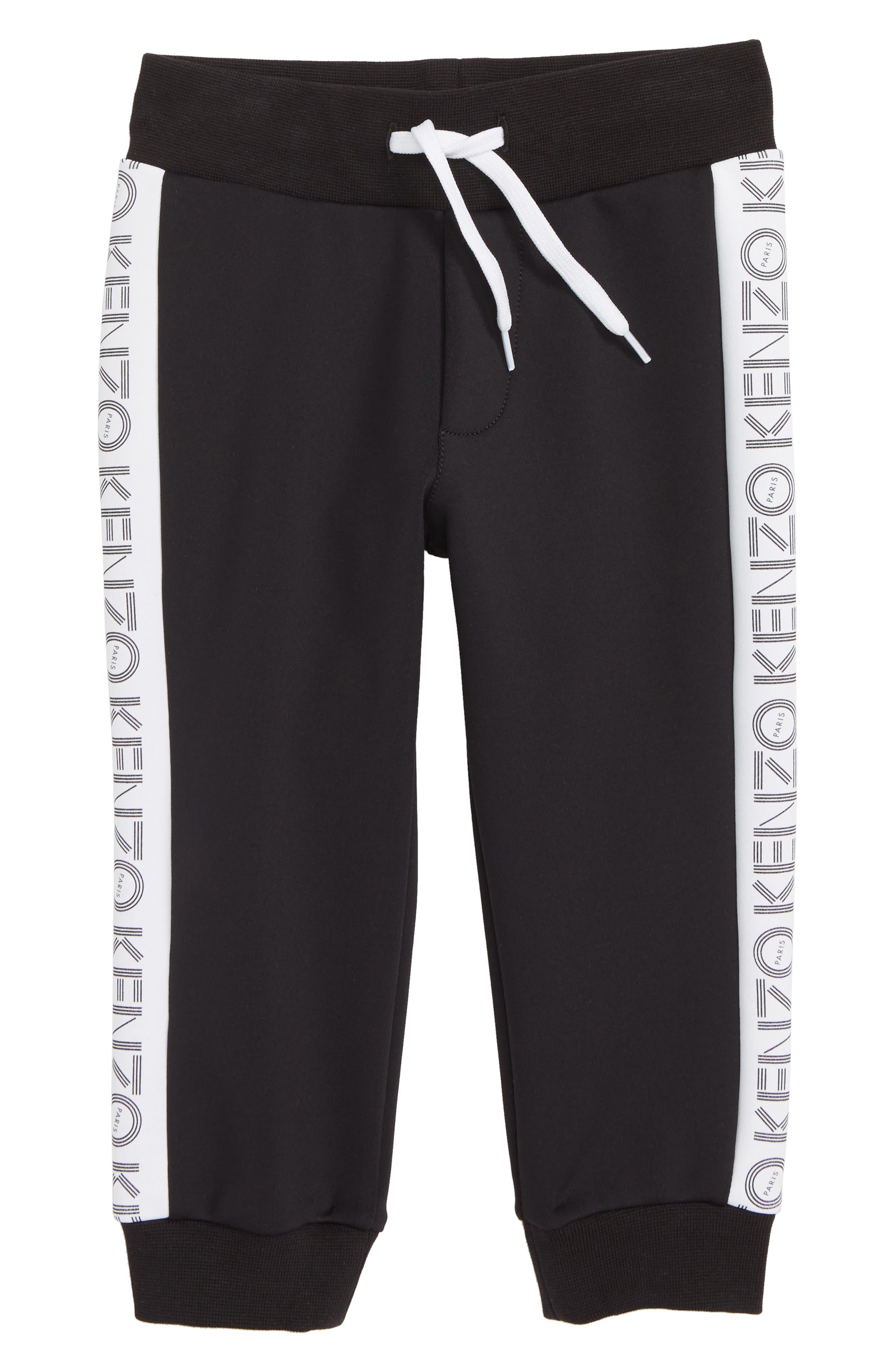 ,                             Logo Sweatpants,                             Main thumbnail 1, color,                             BLACK