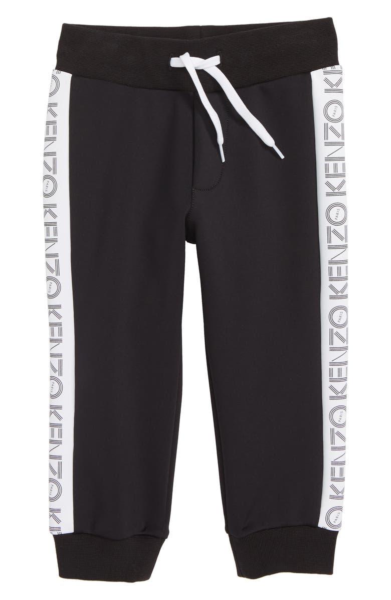 KENZO Logo Sweatpants, Main, color, BLACK