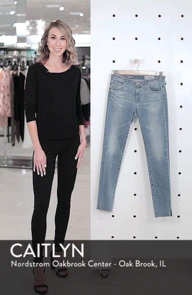 The Legging Ripped Ankle Skinny Jeans, sales video thumbnail