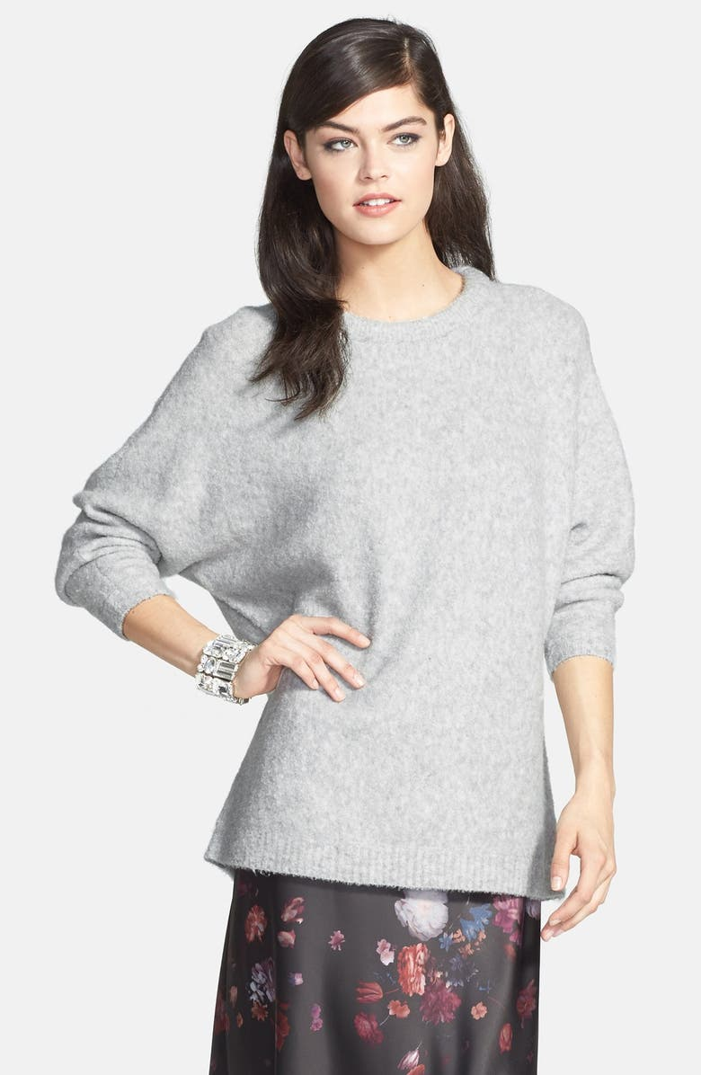 CHELSEA28 Dolman Sleeve Brushed Sweater, Main, color, 020