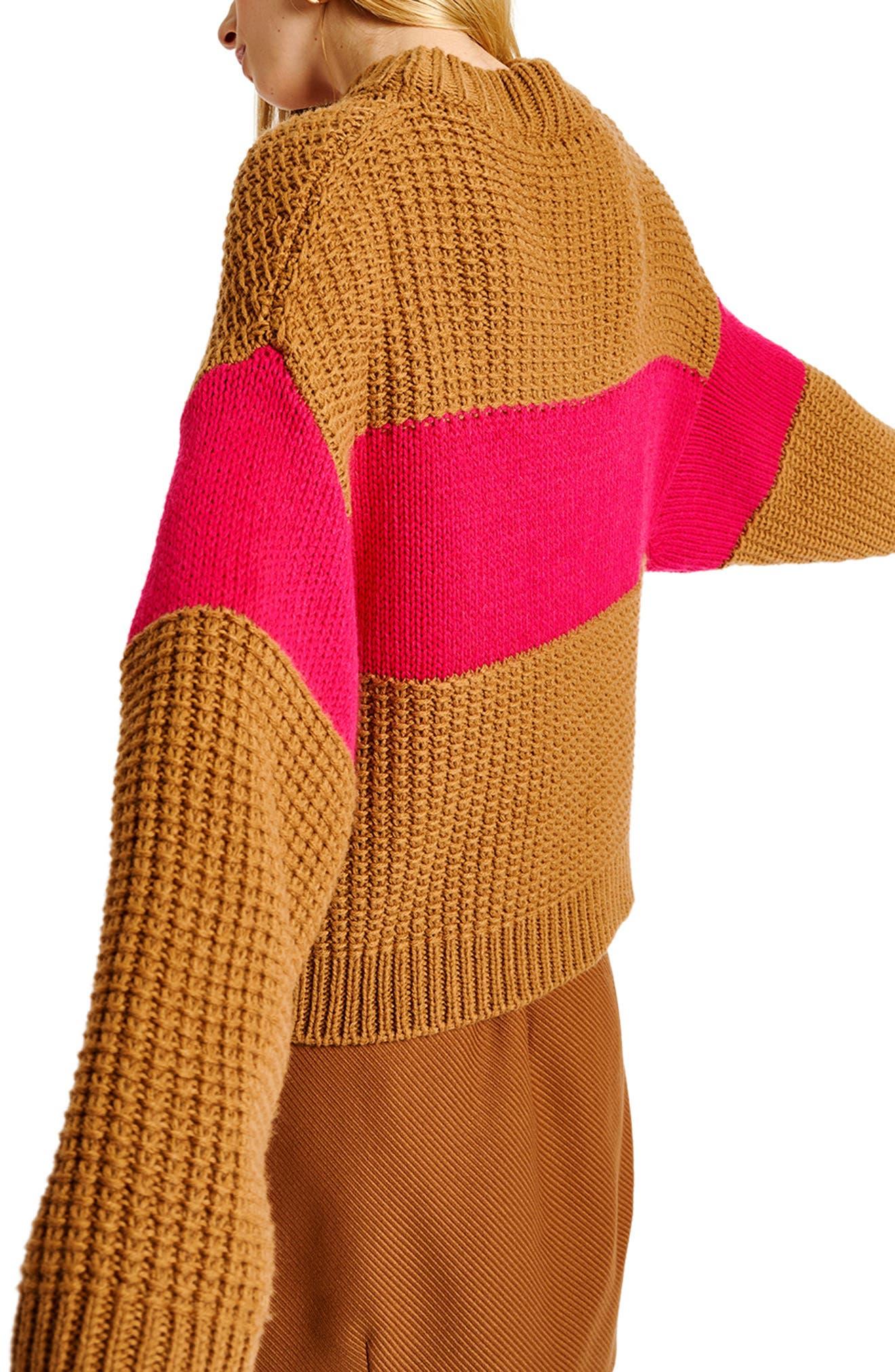 Cross Wool Blend Sweater