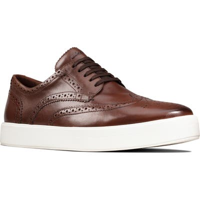 Clarks Hero Limit Wingtip Sneaker- Brown