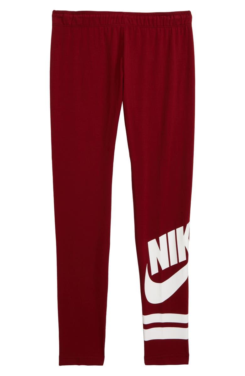 NIKE Sportswear Leggings, Main, color, 600