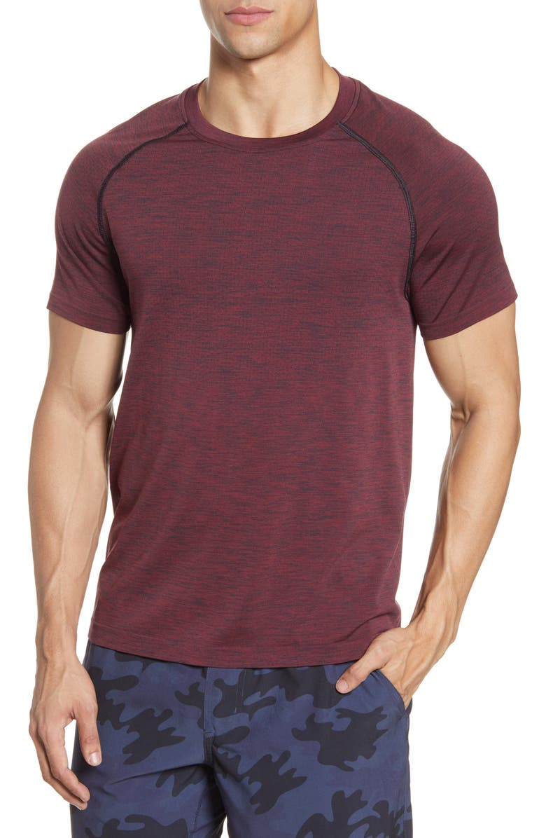 RHONE Reign Tech Short Sleeve T-Shirt, Main, color, ANDORRA