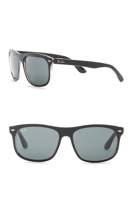 Image of Ray-Ban 59mm Rectangle Sunglasses