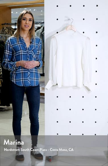 Clip Dot Sleeve Sweater, sales video thumbnail