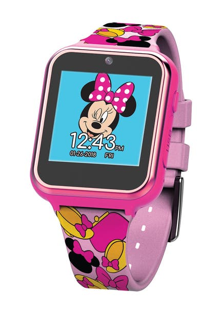 Image of ITime Minnie Mouse Interactive Kids Smart Watch