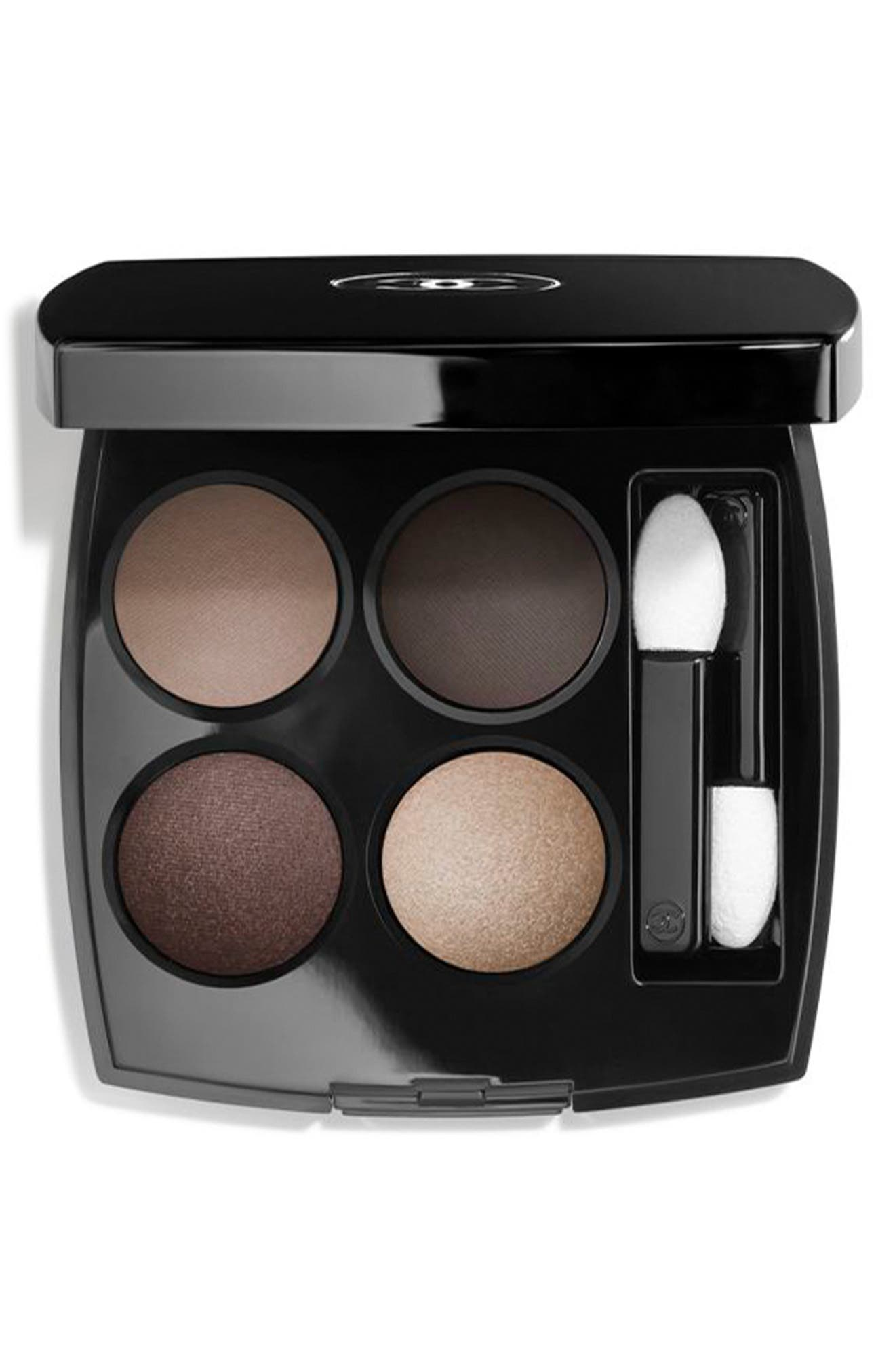 ,                             LES 4 OMBRES<br />Multi-Effect Quadra Eyeshadow,                             Main thumbnail 1, color,                             322 BLURRY GREY