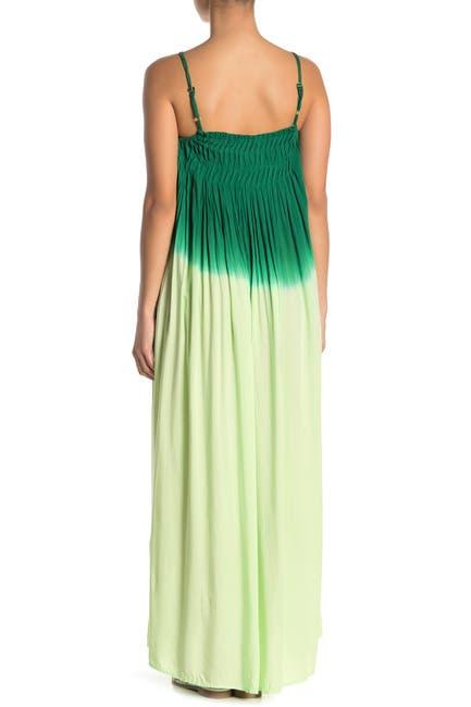 Image of BOHO ME Tie Dye Ombre Maxi Dress