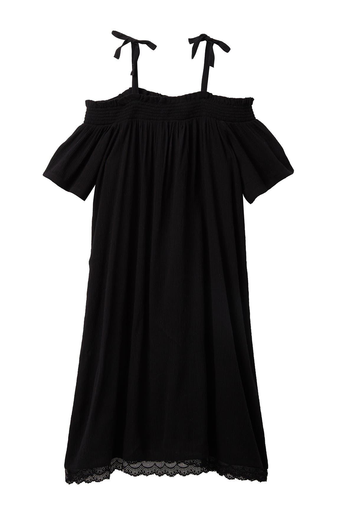 Image of Harper Canyon Off-the-Shoulder Smock Dress