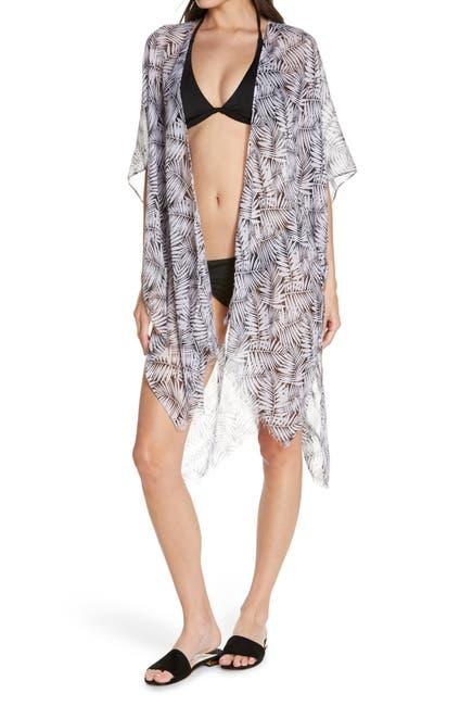 Image of POOL TO PARTY Summers Night Tie Wrap Kimono