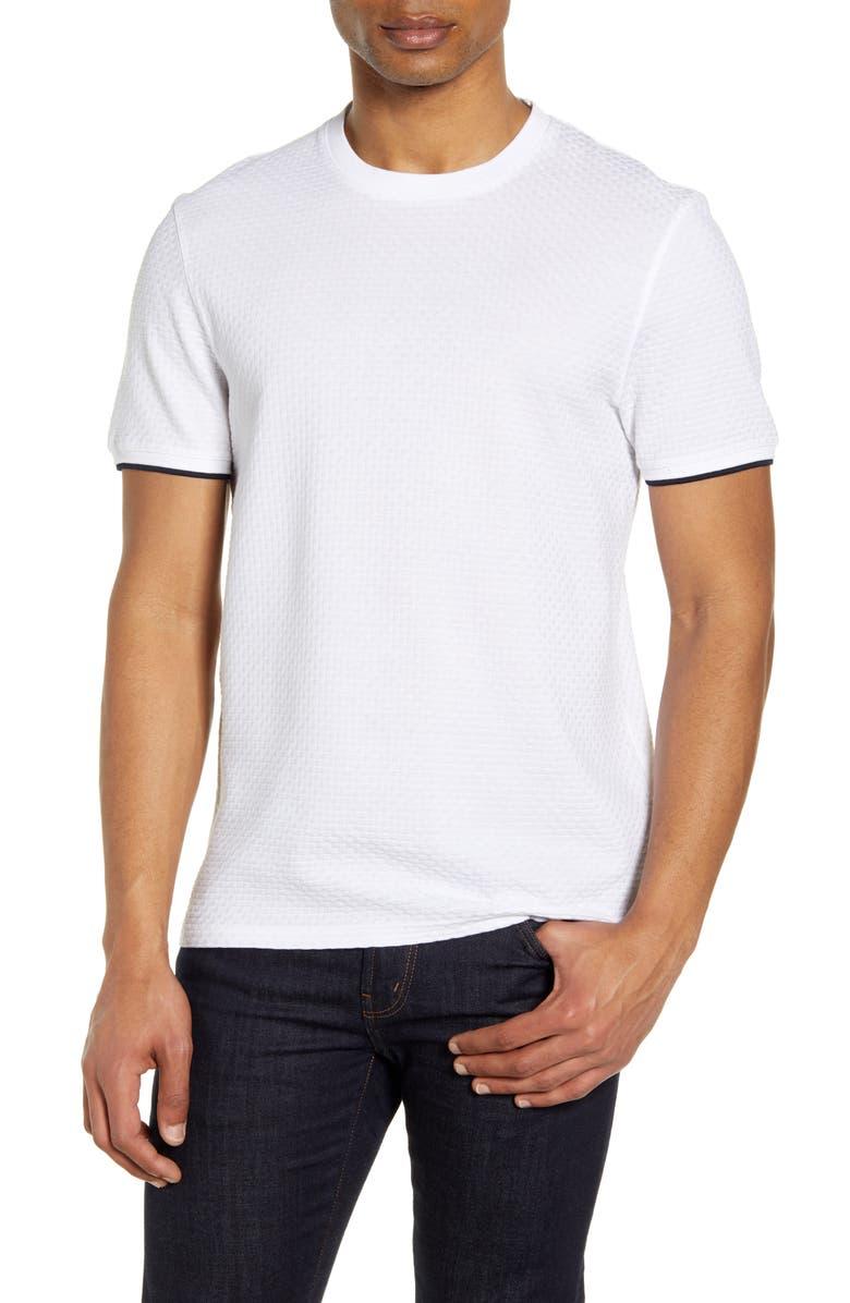 TED BAKER LONDON Caramel Slim Fit T-Shirt, Main, color, WHITE
